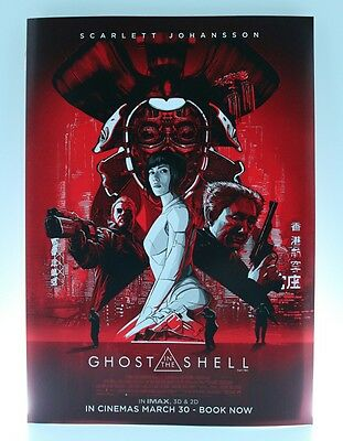 Ghost in The Shell - IMAX Theatres Original Promotional Poster - 300 x 210