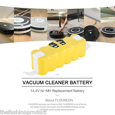 14.4v 3500mAh Batterie pour Irobot Roomba 532 570 581 610 780 800 Ni-MH battery