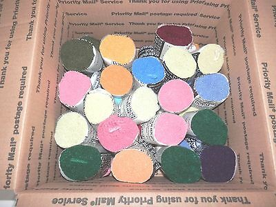 Royal Edinburgh 4 Ply Wool Cut Rug Yarn  37 Pks + 12 + Pks Assorted Mills New