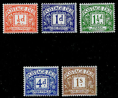 SgD35-D39, COMPLETE SET, UNMOUNTED MINT.