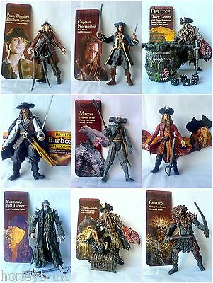 Zizzle Pirates Of The Caribbean Action Figures 3.75 inch