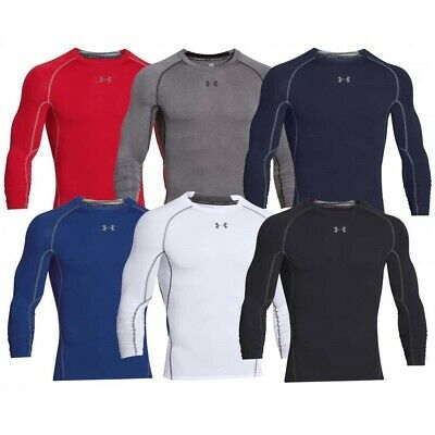New Men's UNDER ARMOUR HeatGear Armour Long Sleeve Compression Shirt