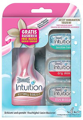 Wilkinson Sword Intuition Variety Blades with Free Razor