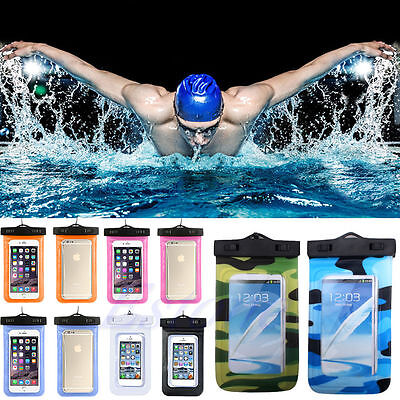 2018 Waterproof Underwater Pouch Dry Bag Case Cover For  CellPhone Touchscreen