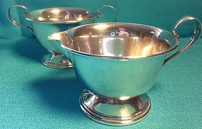 vintage Newport Redlich sterling creamer & sugar 153 g not scrap not weighted