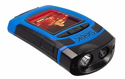 Seek Reveal - All In One Handheld Thermal Imager with Flashlight, Blue