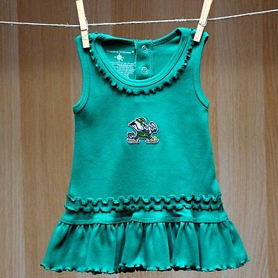 Fighting Irish Baby Infant Girl Ruffle Tank Top Dress (FREE SHIPPING) 0-3 months