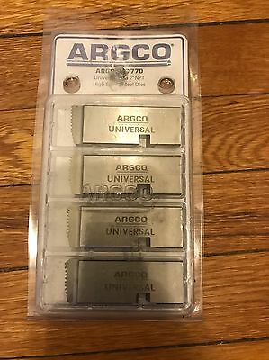 "Argco 47770 1""-2"" Threading Dies fit RIDGID® 300 Threader and 811a Universal"