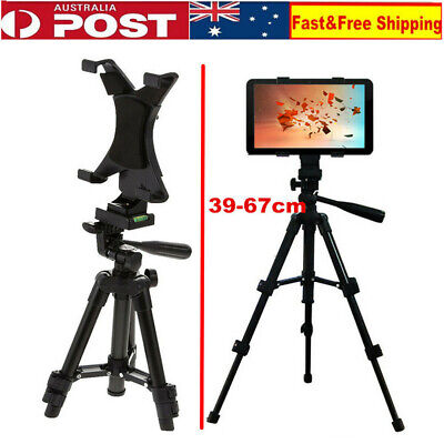 Adjustable Foldable Tripod Stand Tablet Mount Holder Bracket For iPad 2 3 4 Air