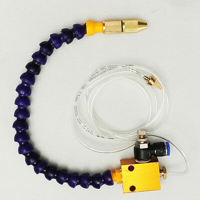 8mm Mist Coolant Lubrication Spray System For Air Pipe CNC Lathe Mill Drill NEW