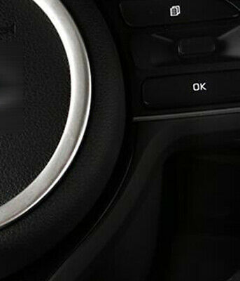 For Kia Sportage 2017 2018 Interior Car Steering Wheel Moulding Ring Cover 1PC