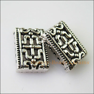 15Pcs Antiqued Bronze Tone Animal Fish Spacer Beads Charms 9.5x17.5mm