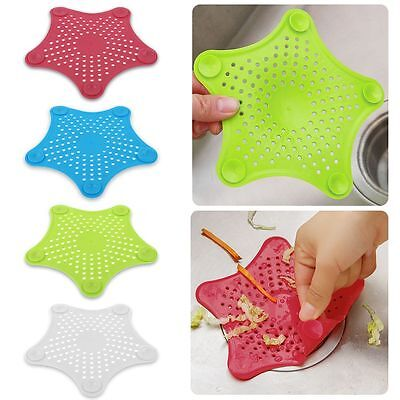 Star Bathroom Drain Hair Catcher Bath Stopper Plug Sink Strainer Filter Shower