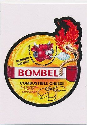 #2 BOMBEL 2017 Wacky Packages 50th Anniversary OLD SCHOOL BABYBEL