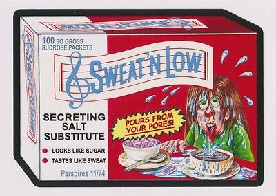#6 SWEAT'N LOW 2017 Wacky Packages 50th Anniversary OLD SCHOOL SWEET