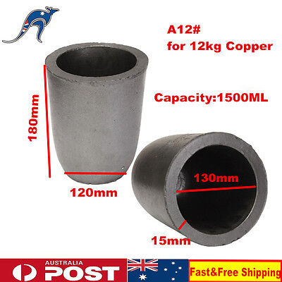A12# Furnace Casting Foundry Graphite Crucible Melting Tool for 12KG Copper