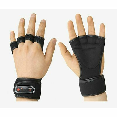 Wrist Wrap Gloves TROVIS GYM Dumbbell Weight Lifting Health Fitness Training