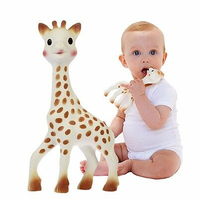 Sophie The Giraffe Baby Teether Rubber Teething Toys For Babies Kids Chewing Toy