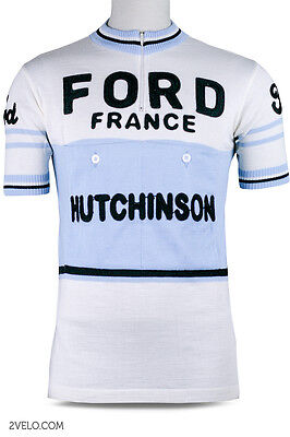 Ford Hutchinson vintage wool jersey, new, never worn L