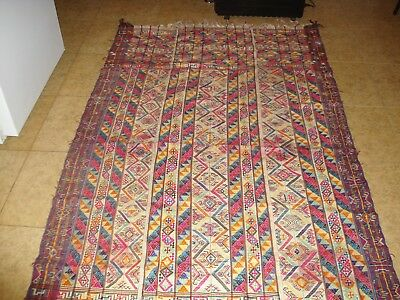 Bhutan textile Kira cotton and silk mid 20th century very intricate handwoven