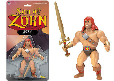 Son of Zorn Warrior with Mighty Sword Television Retro Action Figur Funko