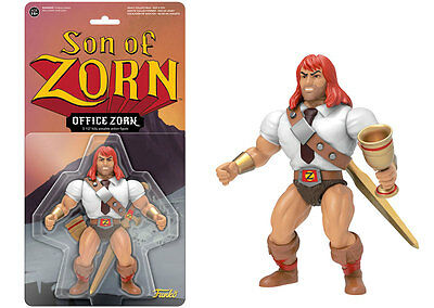 Son of Zorn Office Zorn With Mighty Chalice Television Retro Action Figur Funko
