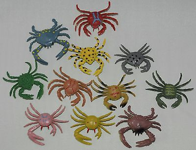 Plastic crabs & lobster High colour details FREE POST UK SELLER