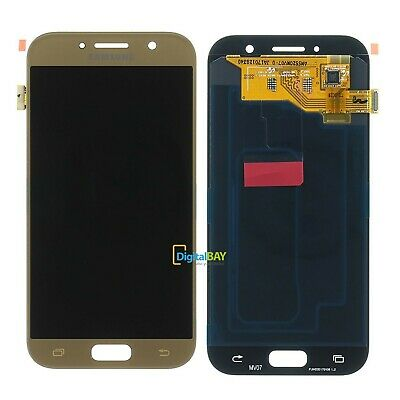 Screen LCD Display Touch A5 2017 SM-A520F Oro Gold SERVICE PACK SAMSUNG Galaxy