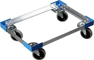 Carlisle Cateraide End-Loading Food Pan Carrier Dolly, Aluminum