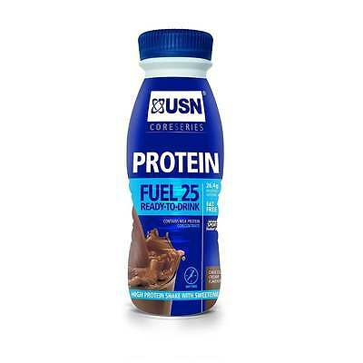 USN USN Protein Fuel 330ml x 8 bottles