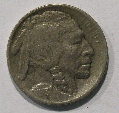 1913-S Type I *VF* Very Fine Buffalo Nickel