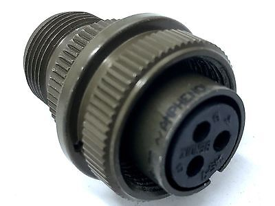 AMPHENOL MS3106A14S-7S Circular Connector Socket 14S Shell Size 3 Contacts