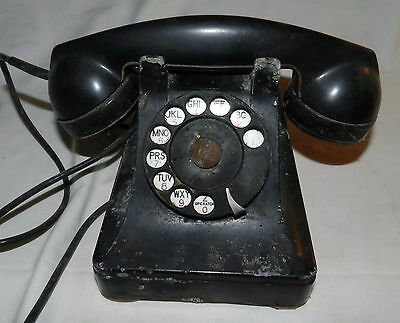 Vintage Western Electric Phone / Telephone with F1W Receiver for parts or repair