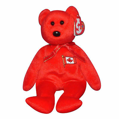4759525bd0f TY PIERRE THE BEAR BEANIE BABY - MINT with MINT TAGS - CANADA ...