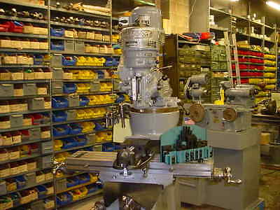 1966 Bridgeport Milling Machine 1 Hp V-Ram W/ Vise--Collets Reconditioned Video