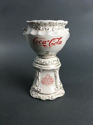 Vintage 75th Anniversary Coca Cola Replica Porcelain Fountain Syrup Dispenser