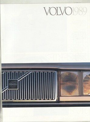 1989 Volvo 240 740 760 780 Series US Brochure my7242