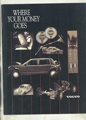 1990 Volvo Full Line US Prestige Brochure my7249