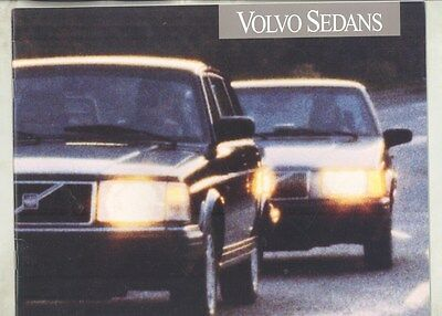 1993 Volvo 240 940 960 Sedan US Brochure Prestige my7257