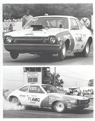 1974 AMC Hornet Hatchback Race Car ORIGINAL Factory Photo oub3756
