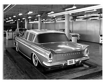 1960 Rambler Ambassador Concept ORIGINAL Factory Photo oub3849