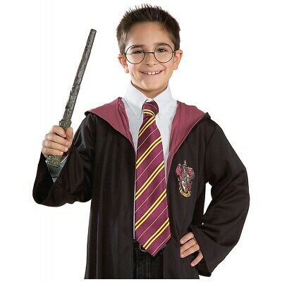 Harry Potter Tie Kids Gryffindor Halloween Costume Fancy Dress