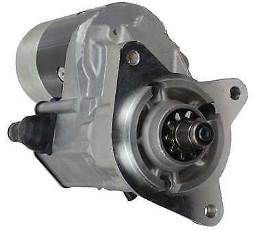 Gear Reduction Starter New Holland Tractor 8010 8010Hc 8160 8240 8340 8360 8560