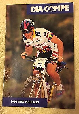 Nos Vintage Collectible1995 Dia-Compe 'new Products' Booklet Usa Bmx Freestyle