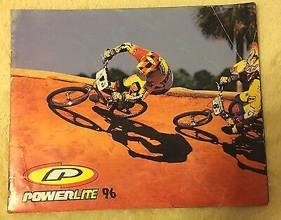 Nos Vintage Collectible 1996 Powerlite Bicycle Catalog Usa Bmx Freestyle