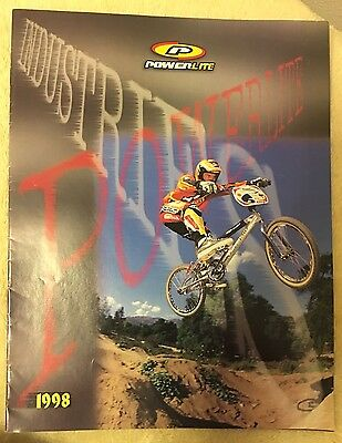 Nos Vintage Collectible 1998 Powerlite Industries Bicycle Catalog Bmx Freestyle