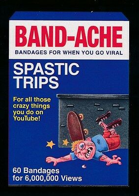 #5 BAND-ACHE 2017 Wacky Packages 50th Anniversary BAND-AID