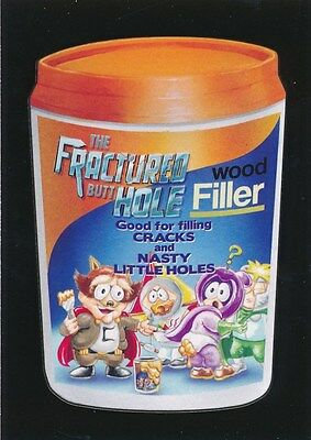 #6 FRACTURED BUTT HOLE 2017 Wacky Packages 50th Anniversary VIDEO SOUTH PARK