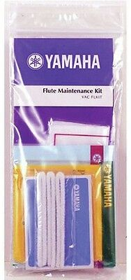 New YAMAHA YACFL-MKIT Flute Maintenance Kit Tone Hole and Pad Cleaner Polish