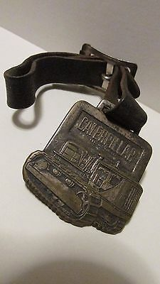 Vintage Caterpillar Watch Fob - Beckwith Mach. Co. Pittsburgh, Pennsylvania